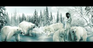 Queen of the Ice Bears by Zaratops