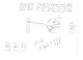 Pac Monster by nicolistic