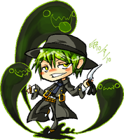 Hazama Prince of Darkness by KuroBlanc