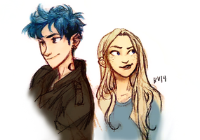 From Burdge's Tumblr: Teddy and Victoire by youowemeasoda