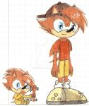 Baby and Kid Zack by MrSoniccloud