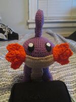 Shiny Mudkip Plushie by Deathlydreams