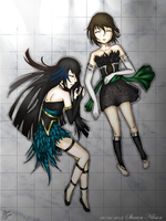 Birds of a feather - Sisters by Ockedy