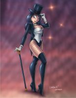 Colored Zatanna by ArtofLaurieB