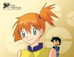 Misty... and Ash by Symphonie-Rose