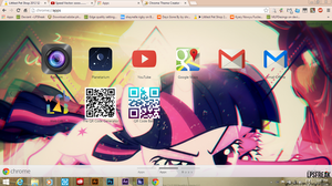 Twilight's trip chrome theme by shaynelleLPS
