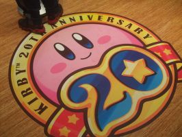 Kirby 20th at Nintendo World 11 by MarioSimpson1