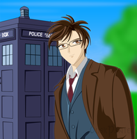 Tenth Doctor - Doctor Who by DuskPanther