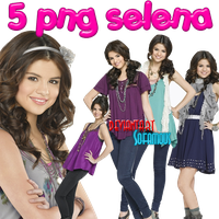 5 PNG selena gomez by womanicemylove