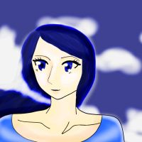 BLUE IS MY FAVORITE COLOR by Yancalai
