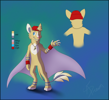 Chirogo design for Little-Wolf-X3 by AbsoluteDream