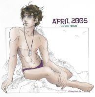 HP Art Calendar-April 2005 by The-Gwyllion