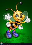 Bee Mascot by designfxpro