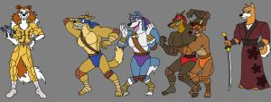 TMNTRovers by MetalExveemon