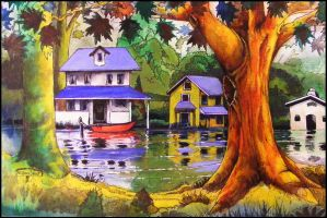 Swamp Homes by deviantmike423