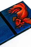 Airbrushed PS2 console by Innom