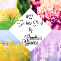 Texture Pack #17 Flowers by Graphic's Universe by GraphicsUniverse