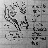 Just give me a pain that I'm used to by GuardianOfNightmares