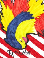 Typhlosion by josey629