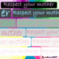 Respect your mother by mohammed6651