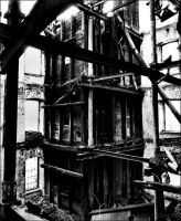 Burned Mill by DOLLwithTHEglassLOOK