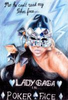 Lady GaGa in Poker Face by marvin102019