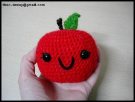 .:Cute Apple:. amigurumi by SaMtRoNiKa