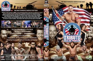 WWE Tribute to the Troops 2013 DVD Cover by Chirantha