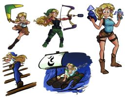 Link Items by tran4of3