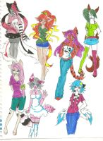 lots of adopts...:opn: by Glomp-me-and-die