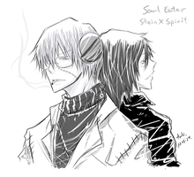 Soul Eater- Back to back by minghii