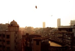 Evening in Mumbai Suburbs by Warriorash
