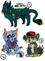 Adorable random creatures: [MOVED] by piano-skies