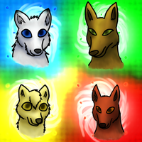 Wolf Types by Silosson