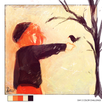 color challenge day 2 by xMangoTart