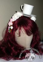 Teacup head piece by The-Cute-Storm