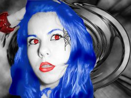 My blood is blue by DarkNightGraphX