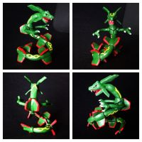 Rayquaza by Elucious