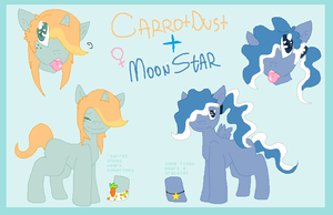 CarrotDust and MoonStar Ref by l3utts