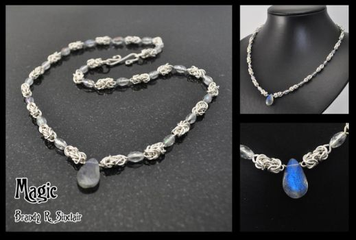 Magic - Maille Necklace by crazed-fangirl