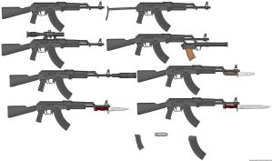 AKM Variants by radar651