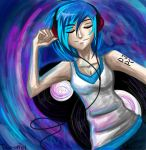 When Vinyl Scratch Dreams by Tao-mell