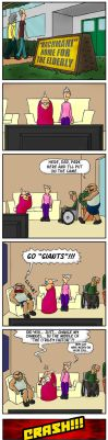 Dueling Grannies - Anthropology by Neotomi