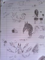 sketches XD by Mariaxshadow1