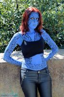 Mystique cosplay by symphonyckuroi