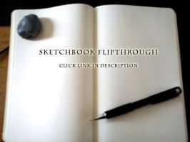 VIDEO: Sketchbook Flipthrough #2 by ConnyNordlund
