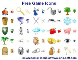 Free Game Icons by Ikonod