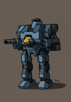Bastion V Combat Armour by Blazbaros
