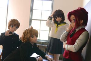 [Please Teacher!] reappearance photo-shooting. 2 by chocolate-array