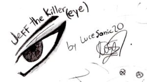 Jeff The Killer Eye by LuceSonic20